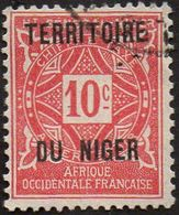 Niger N° Taxe  2 - Ornement Le 10c Rose - Niger (1921-1944)