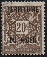 Niger N° Taxe  4 - Ornement Le 20c Brun - Niger (1921-1944)