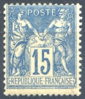 France N°101 (Sage) - Neuf** - (F1689) - 1898-1900 Sage (Type III)