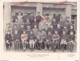 Au Plus Rapide Marseille Lycée Saint Charles 1966 1967 Photo De Classe - Identifizierten Personen