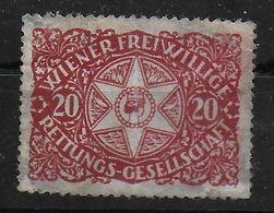 Österreich Wiener Rettungs Gesellschaft Spendenmarke Cinderella Vignet Werbemarke Propaganda - Fantasy Labels