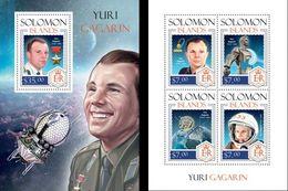 Salomon 2014, Space, Gagarin, 4val In BF+BF - Raumfahrt