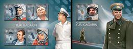 Salomon 2014, Space, Y. Gagarin, 4val In BF+BF - Raumfahrt