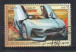 DJIBOUTI. 2018. CARS. CITROËN GT. CANCELLED (6R1727) - Autos