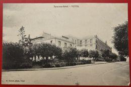 Cpa 88 VITTEL Terminus Hotel - Vittel Contrexeville