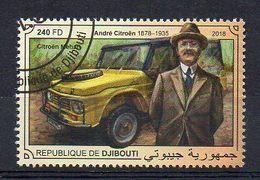 DJIBOUTI. 2018. CARS. CITROËN MEHARI. CANCELLED (6R1728) - Cars