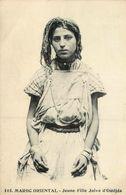 Judaica * Oudjda * Maroc Oriental * Jeune Fille Juive * Judaisme Juif Juifs Jew Jewish Jud Juden Israélite Juives - Judaisme