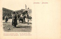 Judaica * Jérusalem * Procession Des Juifs Espagnols * Judaisme Juif  Jew Jewish Jud Juden Israélite Juives Juive - Judaisme
