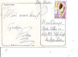 Tunisie ( CP De 1988 De Monastir Vers Les Pays-Bas à Voir) - Tunesien (1956-...)
