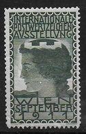 Österreich 1911 Postwertzeichen Asstellung Spendenmarke Cinderella Vignet Werbemarke Propaganda - Fantasy Labels