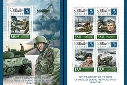 Salomon 2014, WWII, Planes, 4val In BF+BF - WW2 (II Guerra Mundial)