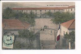Carte De BLIDA Caserne Des Tirailleurs ( Colorisée ) Cachet Peribonca Quebec ( Recto Verso ) - Blida