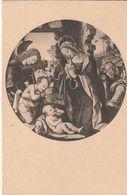 Cartoline - Postcard /    Viaggiata - Sent / Madonna Che Adora Il Divin Figlio. - Firenze. - Vierge Marie & Madones