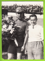 Gino BARTALI, Champion Du Hainaut (1951 ?). Cyclisme. 2 Scans. Lire Descriptif Svp - Cycling
