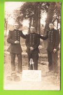 Carte Photo : Départ Au Maroc, 02 Octobre 1913. 2 Scans - Andere Oorlogen