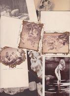 Lot 2453 De 10 CPA Nude Nu Féminin Femmes Nues Tableaux Sculpture Déstockage Pour Revendeurs Ou Collectionneurs - Cartes Postales
