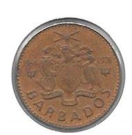 *barbados  1 Cent 1976 Km 10 - Barbados