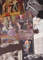 Lot 2457 De 10 CPA Nude Nu Féminin Femmes Nues Tableaux Sculpture Déstockage Pour Revendeurs Ou Collectionneurs - Cartes Postales