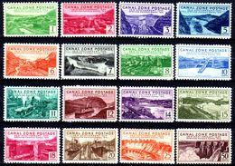 B34-Panama: Canal-Zone-1939 (++/+/sg) MNH/LH/NG (L'ultimo Valore è Senza Gomma). - Panama