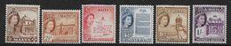 MALTA 1956 VALUES 2d - 1s SG 270/273, 275, 276 LIGHTLY MOUNTED MINT/UNMOUNTED MINT Cat £16+ - Malta
