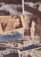 Lot 2462 De 10 CPA Nude Nu Féminin Femmes Nues Tableaux Sculpture Déstockage Pour Revendeurs Ou Collectionneurs - Cartes Postales