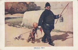 Cartoline - Postcard /  Viaggiata - Sent / Small Fry. - Humour