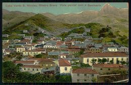 SÃO NICOLAU - RIBEIRA BRAVA. Vista Parcial Com O Seminario. ( Ed. Union Bazar ) Carte  Postale - Cap Vert