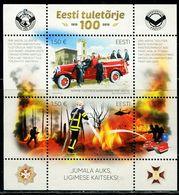 XB0952 Estonia 2019 Fire Brigade Fire Fighting S/S - Estland