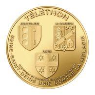 Monnaie De Paris , 2019 , Drancy , Téléthon , Aubervilliers , Pantin , La Courneuve - Monnaie De Paris