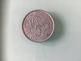 5 FRANCS 1964 - Comores
