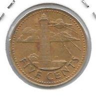 *barbados  5 Cents 1973 Km 11 - Barbados