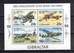 GIBRALTAR Timbres Neufs** De 1998  ( Ref 1738 J ) Transports - Avion Militaire - Gibraltar