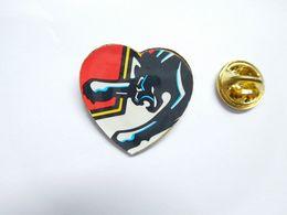Beau Pin's , Coeur , Cœur , Puma - Animaux