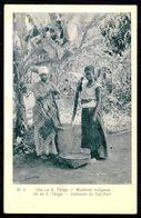 SANTIAGO - COSTUMES - Mucheres Indigenas. ( Nº 6 ) Carte  Postale - Cap Vert