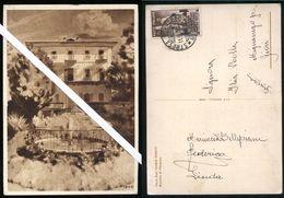 BRACCHIO DI MERGOZZO - VERBANIA - 1933 - VILLA PERETTI - RARA CARTOLINA PRIVATA - Verbania