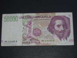 50 000 Cinquantamila 1992 - Banca D'Italia   **** EN ACHAT IMMEDIAT **** - [ 2] 1946-… : Repubblica