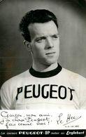 Jean Claude LE HEC * Carte Photo * Coureur Cycliste Né à Mériadec Plumergat * Cyclisme Vélo Tour De France Peugeot - Cycling