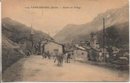 73 LANSLEBOURG  Entrée Du Village - Autres Communes