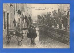 25 DOUBS - BESANCON Inondations 1910, Rue Champrond (voir Descriptif) - Besancon