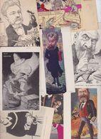 Lot 2467 De 10 CPA Satirique Caricature Politique Déstockage Pour Revendeurs Ou Collectionneurs - Cartes Postales