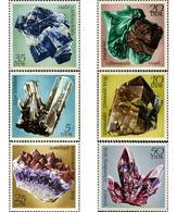Ref. 150725 * MNH * - GERMAN DEMOCRATIC REPUBLIC. 1972. MINERALS . MINERALES - Minéraux