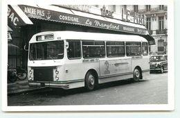 Carte Photo - PARIS X - 27, Rue De Dunkerque - Gare Du Nord - Bus Devant Le Maryland - Arrondissement: 10