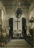 Ile De Noirmoutier * RARE Photo Ancienne Du Photographe H. CHUPIET * Intérieur église Et Maquette Bateau Modélisme - Noirmoutier