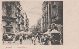 Cartolina - Postcard /  Viaggiata - Sent / Napoli, Strada Di Porto. - Napoli