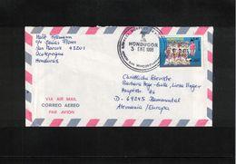 Honduras 1996 Interesting Airmail Letter - Honduras