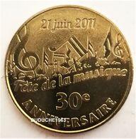 Monnaie De Paris 85.La Mothe Achard - Fête De La Musique 30 Ans 2011 - Monnaie De Paris