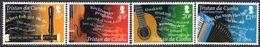 Tristan Da Cunha 2013 Song Project Set Of 4, MNH, SG 1068/71 - Tristan Da Cunha