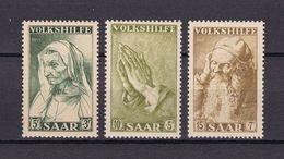 Saarland - 1955 - Michel Nr. 365/367 - Postfrisch - 1947-56 Protectorate