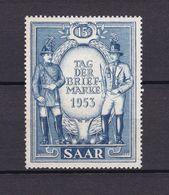 Saarland - 1953 - Michel Nr. 342 - Postfrisch - 1947-56 Protectorate