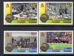 Tristan Da Cunha 2013 Volcano III Set Of 4, MNH, SG 1078/81 - Tristan Da Cunha